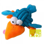 EBI COOCKOO DOG TOY BOBBLE REGULAR, 8CM, KNOT-PLUSH, BLUE